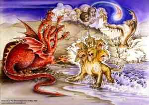 Art used by Pat Marvenko Smith, copyright 1992.