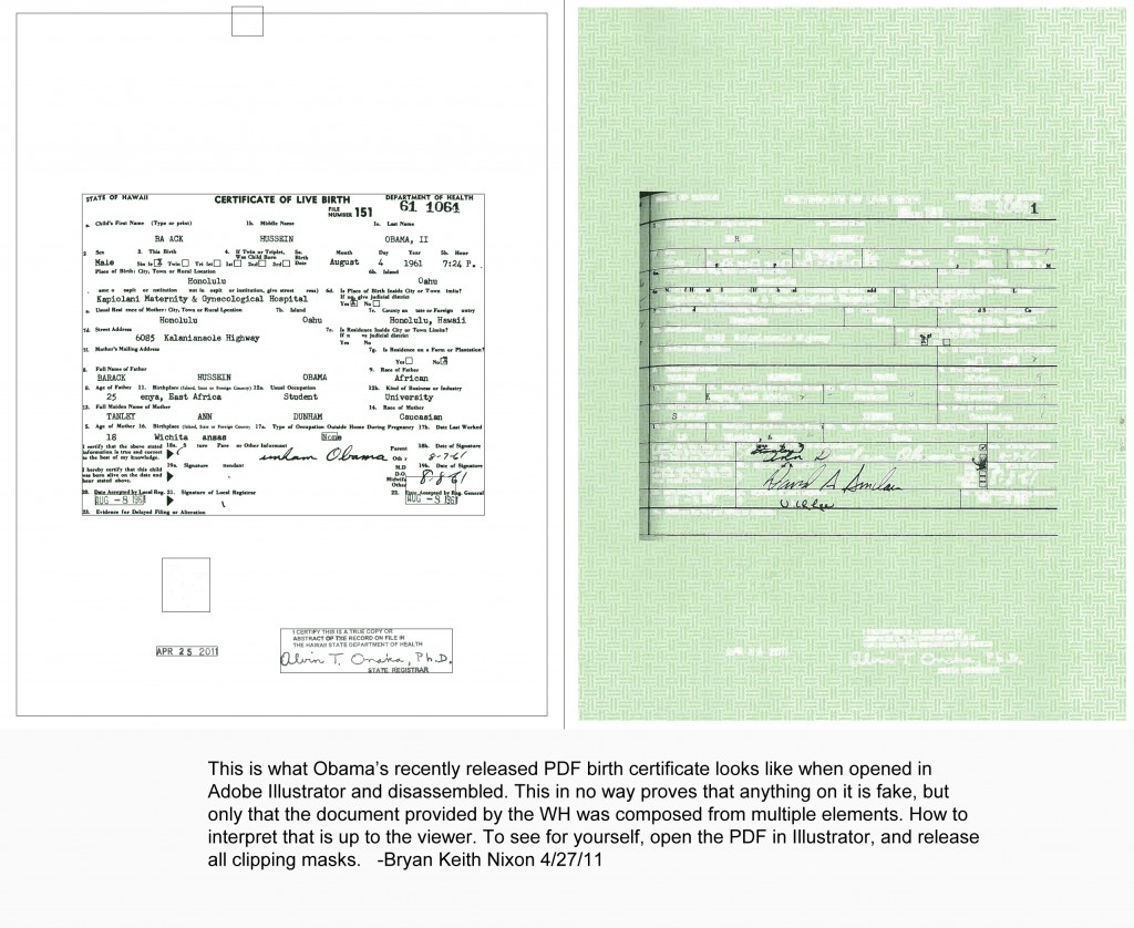 Obamas birth certificate why the numbers are off by aiddatafo Images