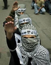Nazi Salute of Hamas