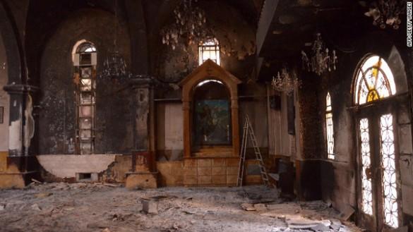 Islamist Rebels Destroy Aleppo Church