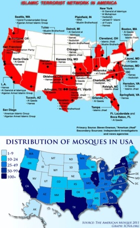 Where the Muslim population increases so does the number of terror groups. Yes, Mr. President, Islam has everything to do with Islamic terrorism.