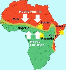 africa-islam-christian